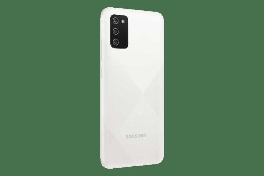 Samsung Galaxy A02s_White_Back_R30