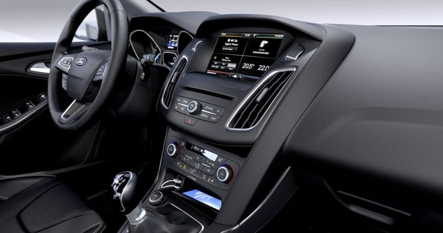 Nye Ford Focus, interiørbilde