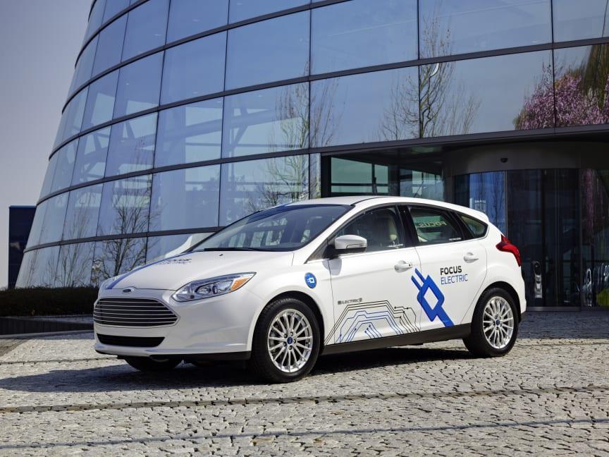 Nye Ford Focus Electric nylig lansert i Norge