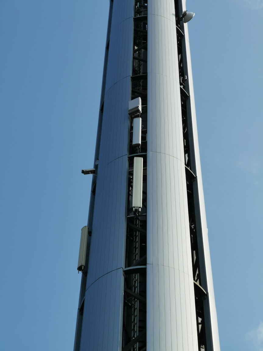5G mast Telenor