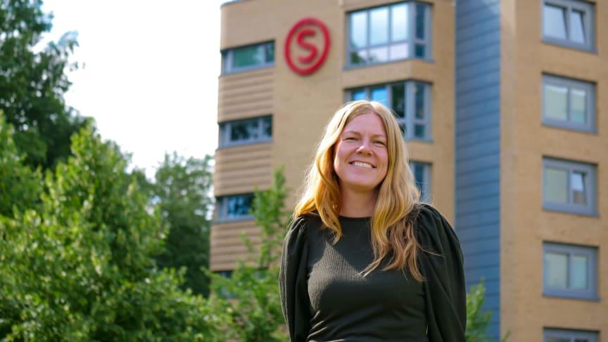 Gunn Kirsti Løkka på Vestgrensa Studentby