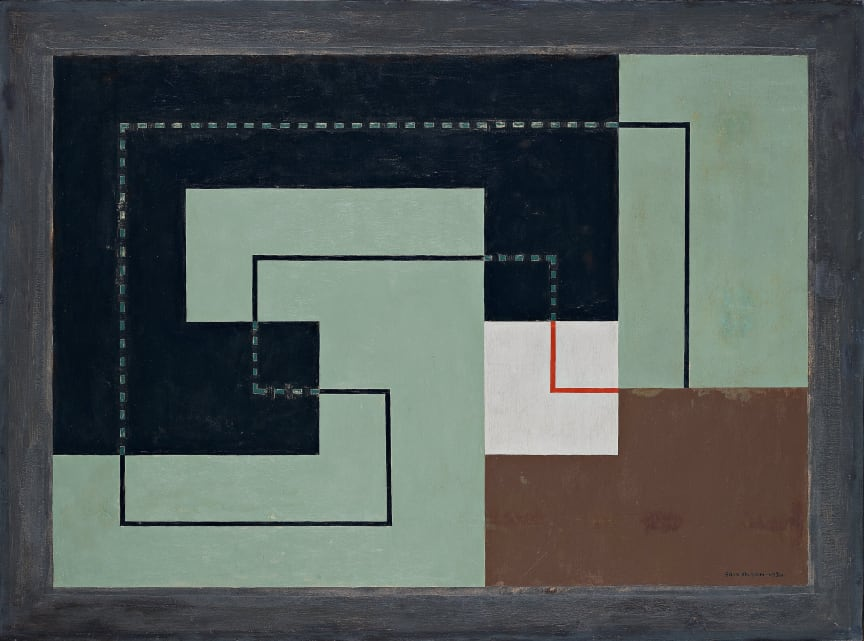 Erik Olson, Concret 1930