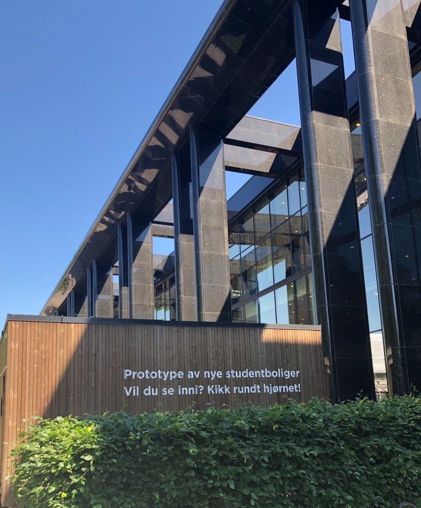 Visningsboligen står på Blindern Campus