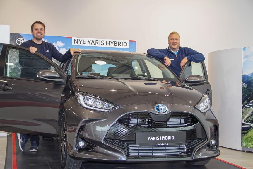 Helt nye Toyota Yaris Hybrid