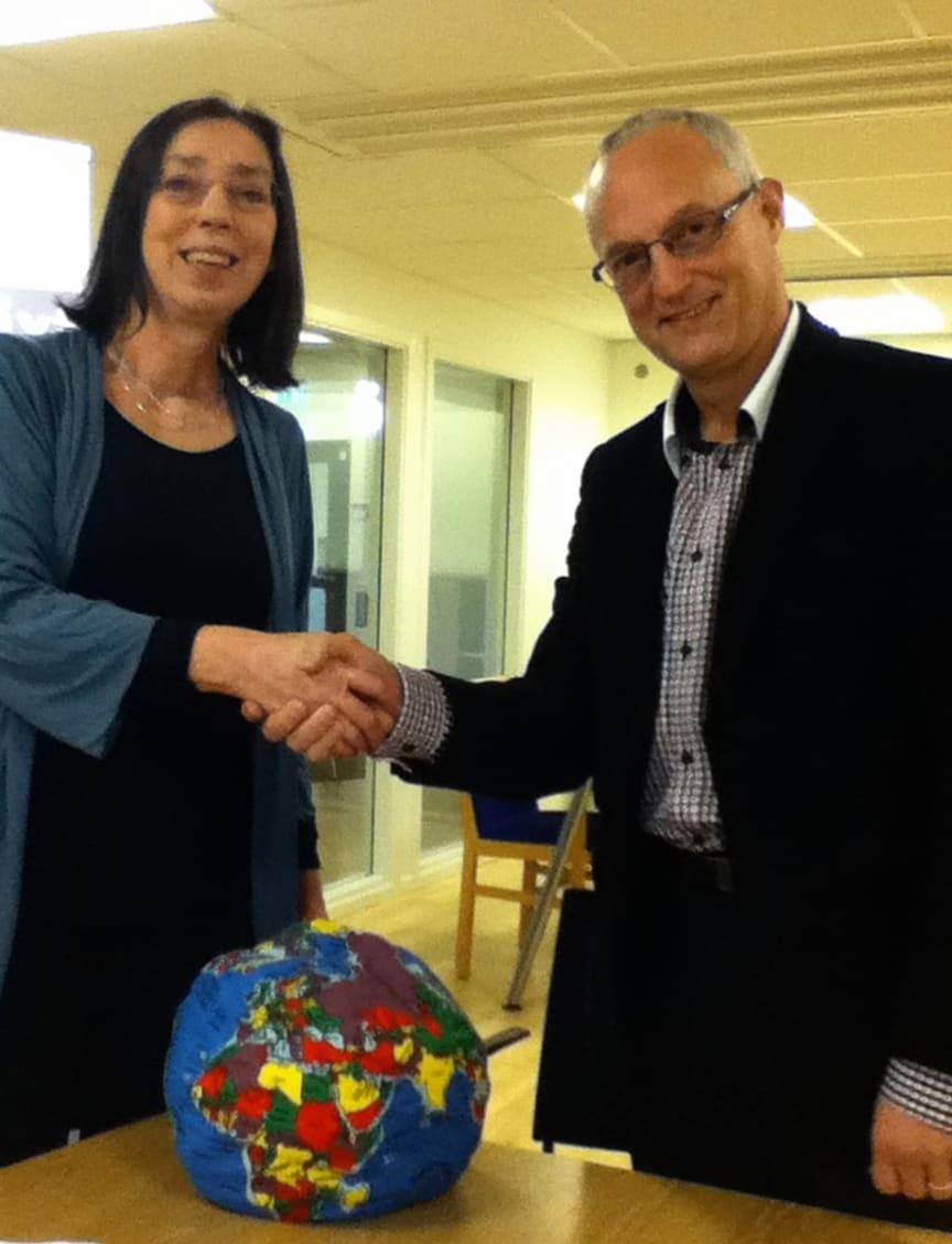 Michael Ekberg, Riksbyggen och Catharina Dyrssen, Chalmers