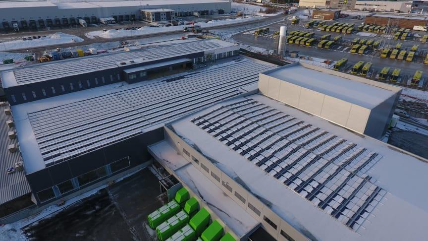 Postens logistikkterminal i Trondheim