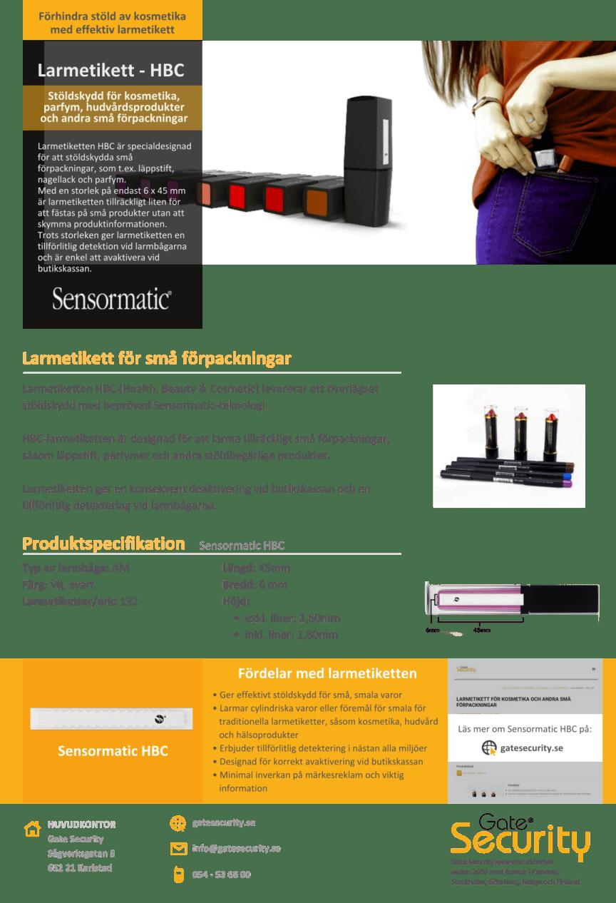 PDF: Förhindra stöld av kosmetika med effektiv larmetikett