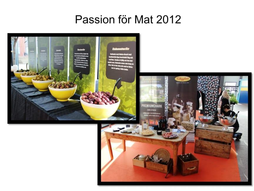 Passion för mat - Ridderheims på mässa