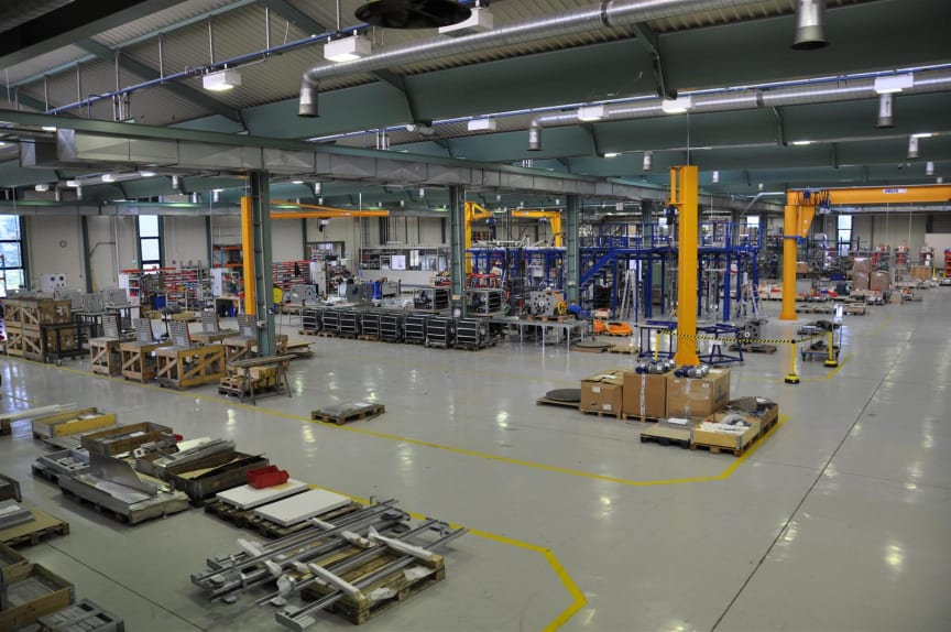 Image of our new premises at Dietzenbach, south-east of Frankfurt.