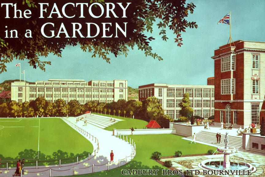 Factoy in a Garden