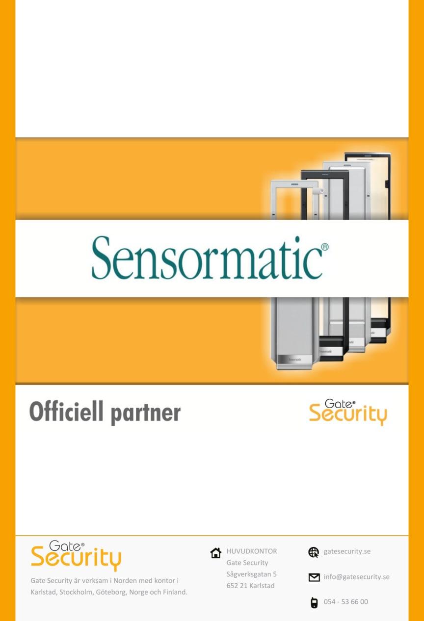 Sensormatic väljer Gate Security som ny partner i Sverige!