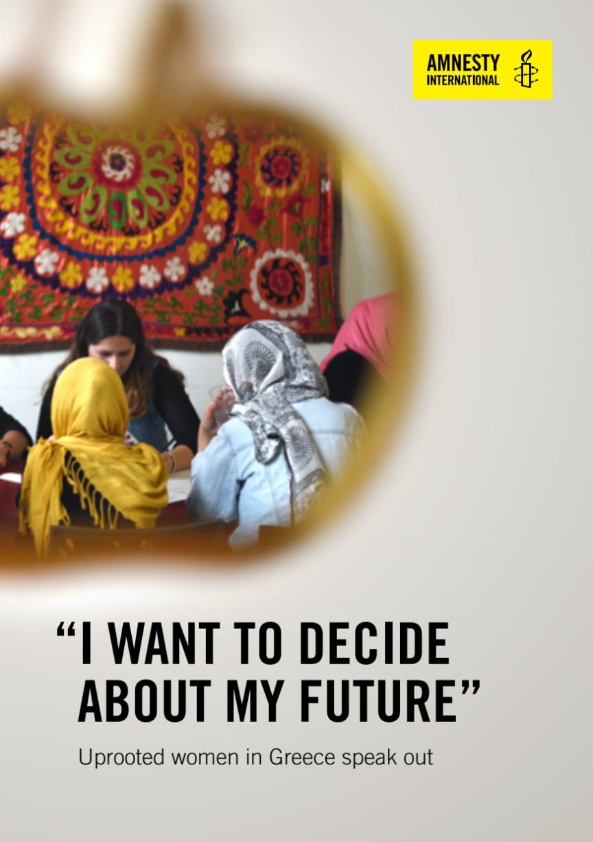 Grekland: Utsatta kvinnor på flykt protesterar mot övergrepp och vidriga förhållanden