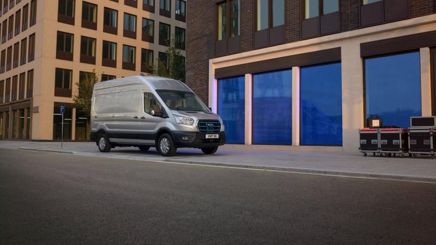 Ford E-Transit 2021 Europalansering