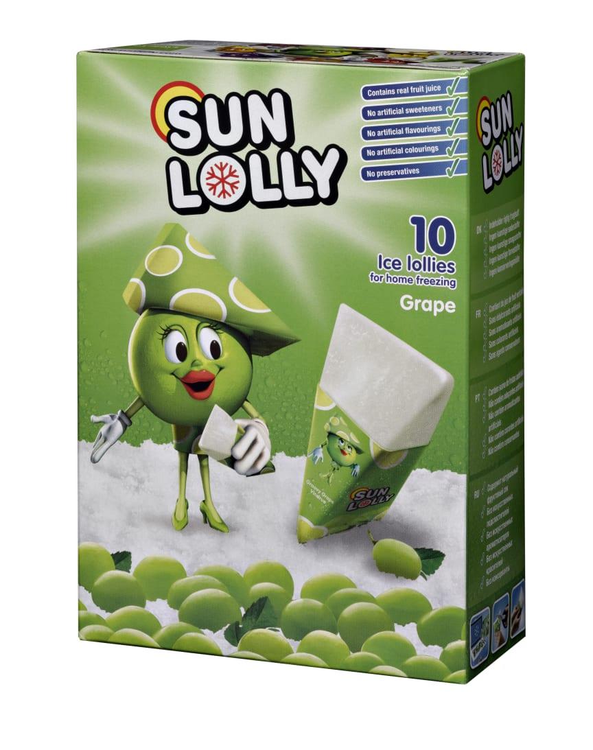 Sun Lolly Grape