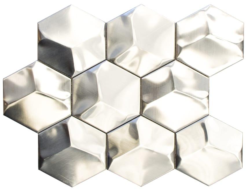 Mosaik Eventyr Englen Sølv Mat 30x30, 1.798 kr. M2.