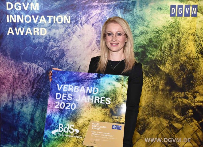 """BdS erhält Auszeichnung als """"Verband des Jahres 2020"""""""