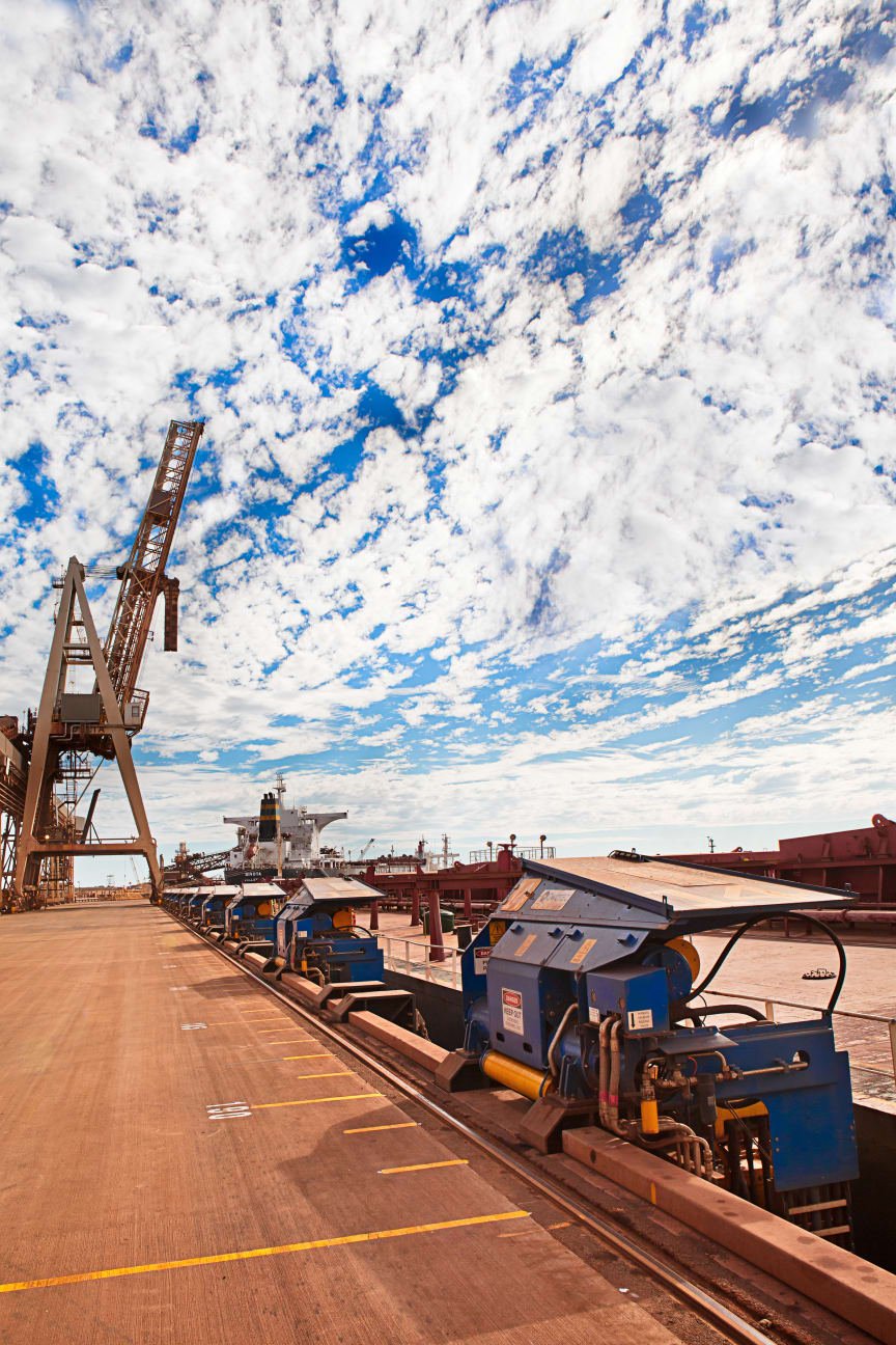 Mooring out of this world? MoorMaster™  automated mooring units at Port Hedland Western Australia #cavotec #ports