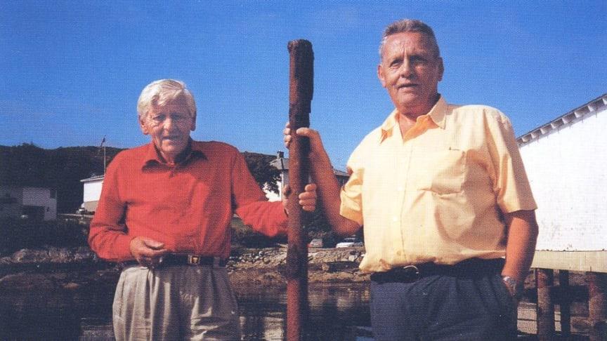 Brødrene Grøntvedt på sine eldre dager
