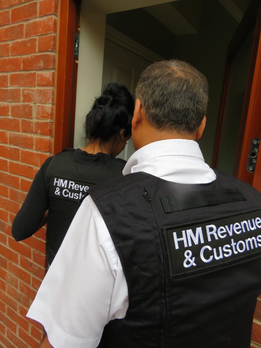 Op Halle HMRC officers searching NW17/15