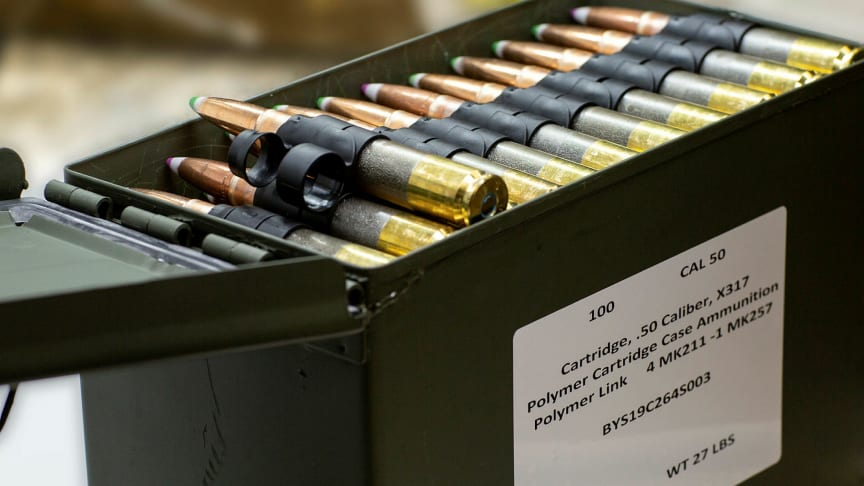 MAC .50 cal cases with Nammo projectiles