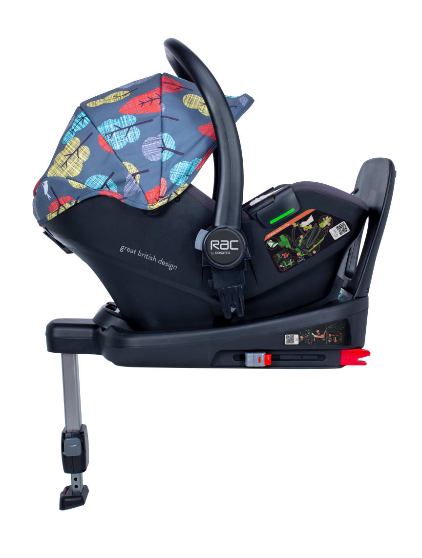 RAC Port i-size car seat - Harewood design
