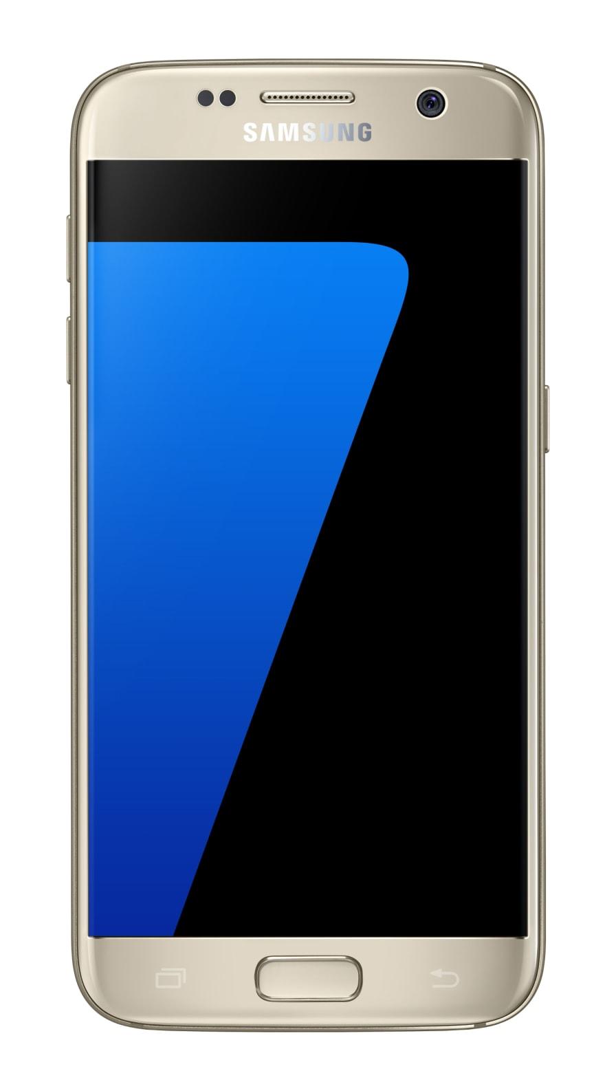 Galaxy S7 - gold platinum