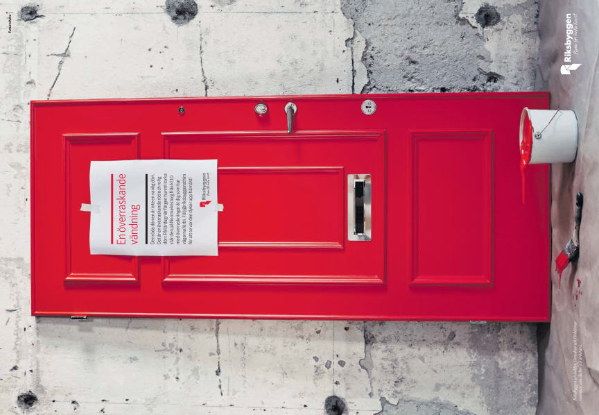 #rödadörren, annons