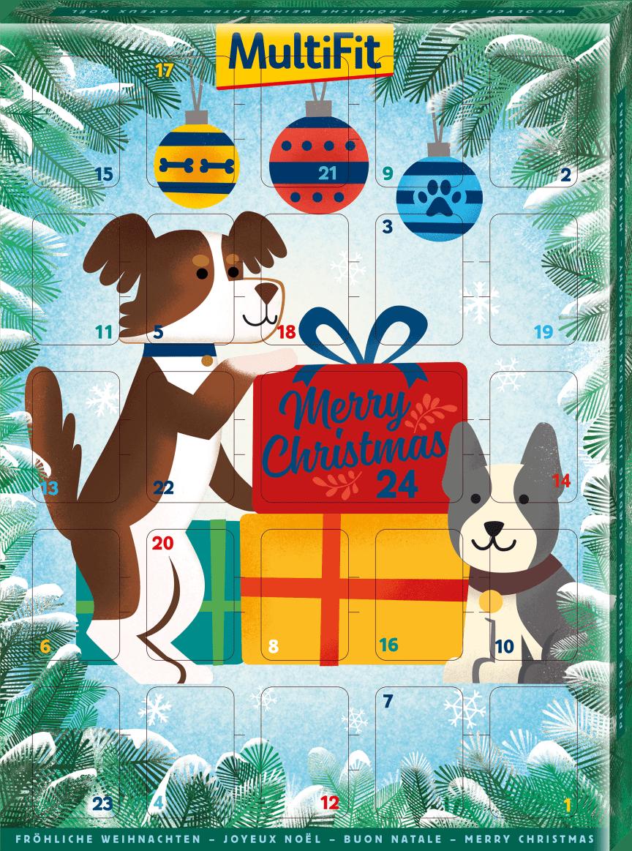MultiFit Adventskalender für Hunde, UVP: 4,99 €