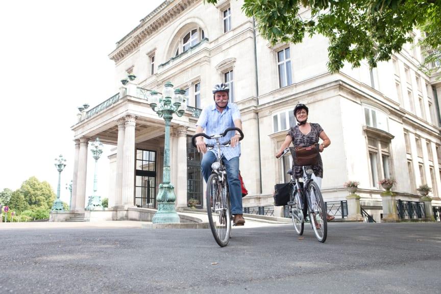 Villa Hügel in Essen ©RuhrtalRadweg