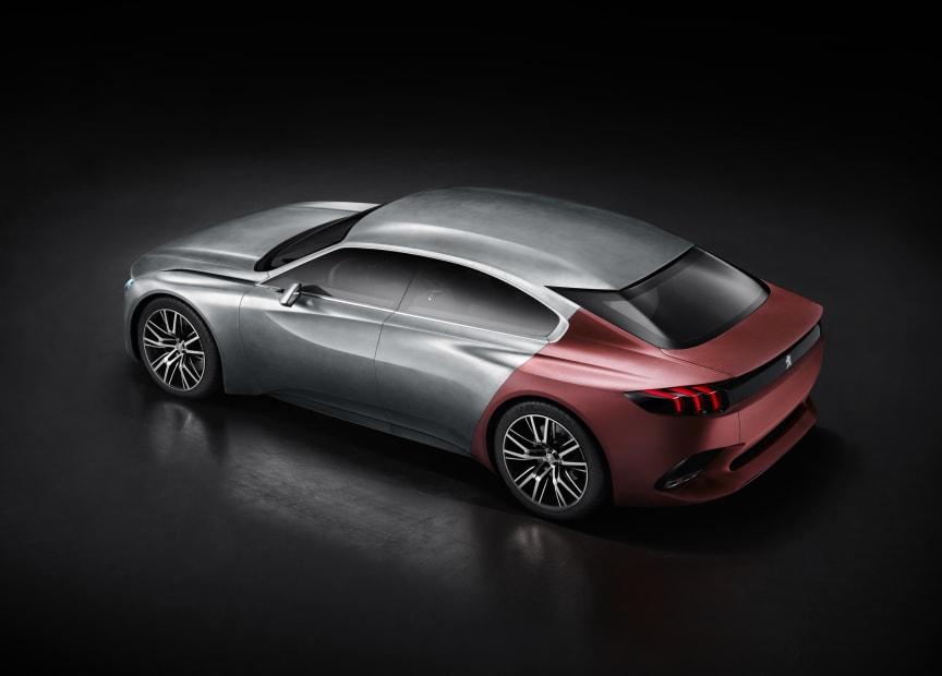 Peugeot Exalt konceptbil bak_sida