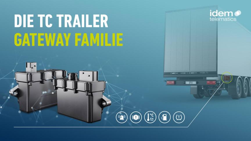 Der Turbolader für mehr Wertschöpfung: Die neue TC Trailer Gateway Familie