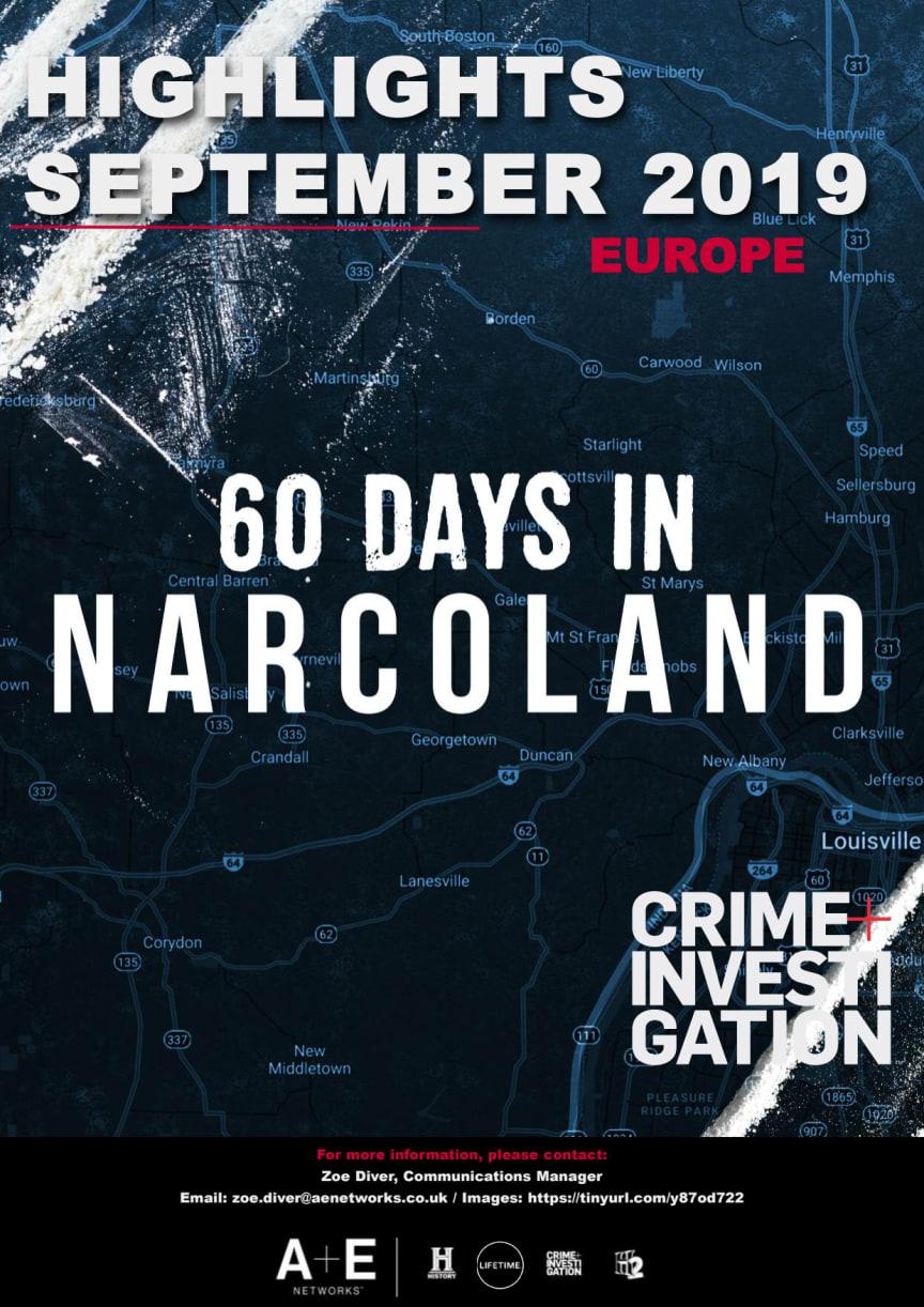 Crime+Investigation Highlights September 2019