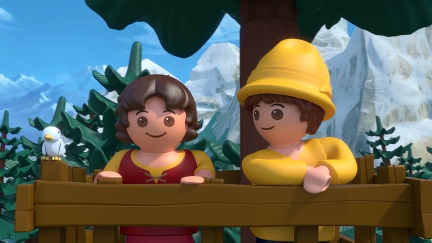 Heidi und Peter im Special Heidi: Der Frühling ist da