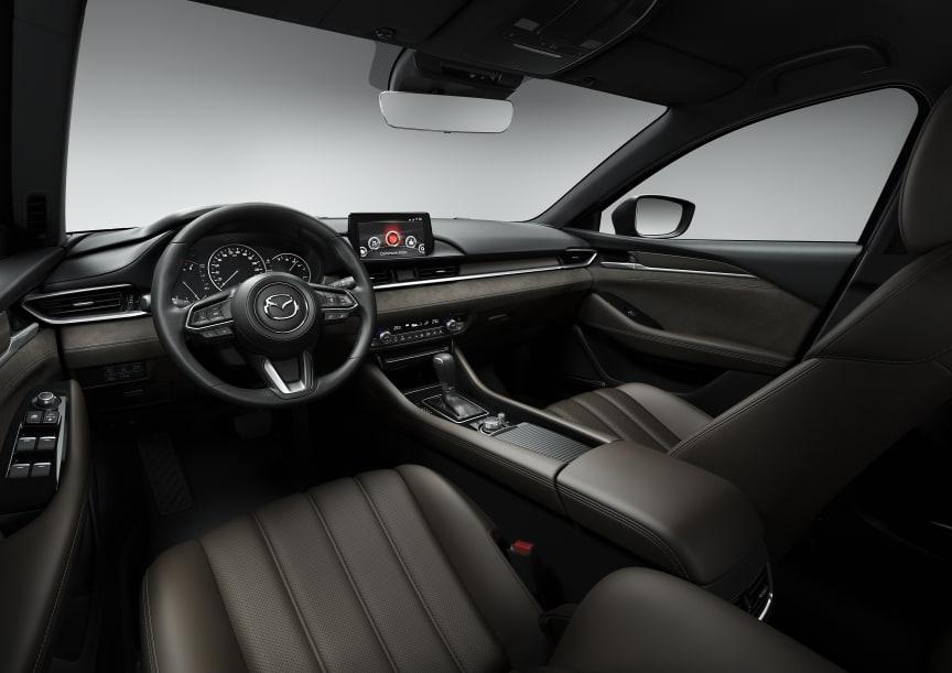 Nye Mazda6 interiør Geneve