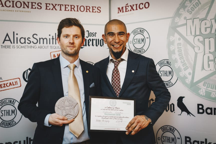 The Restaurant Award 2019 Restaurant Mexikanska Monarkin