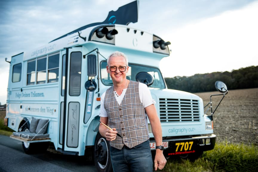 Frank Brormann und Tourbus TRUDE