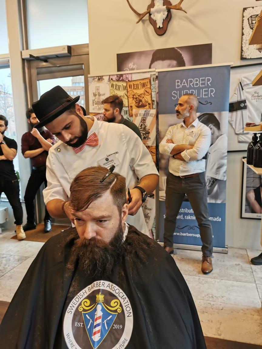 Leonardo Albashash, The Barber, Malmö