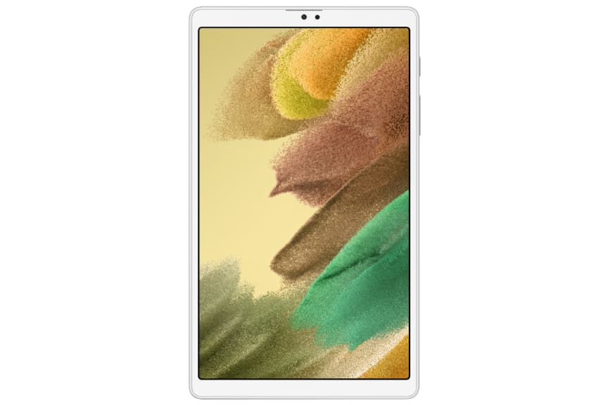 Galaxy Tab A7 Lite_Silver_Front.png