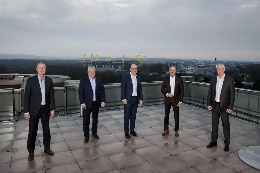 Gruppenbild v.l.n.r. Stefan Kömme, Donald Piesker; Ulrich Scheele, Albert Escoda, Udo Redmann.jpg