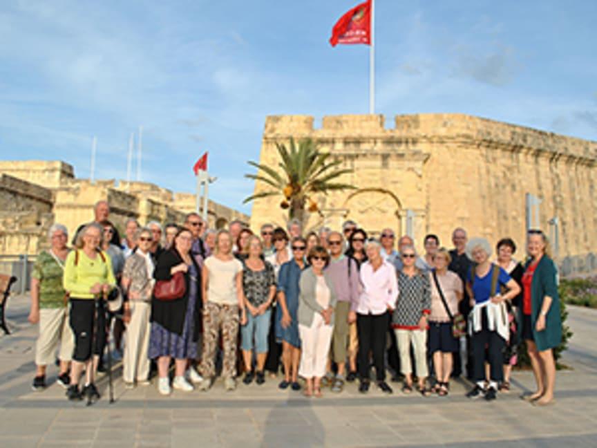 Medlemsresa till Malta 2019