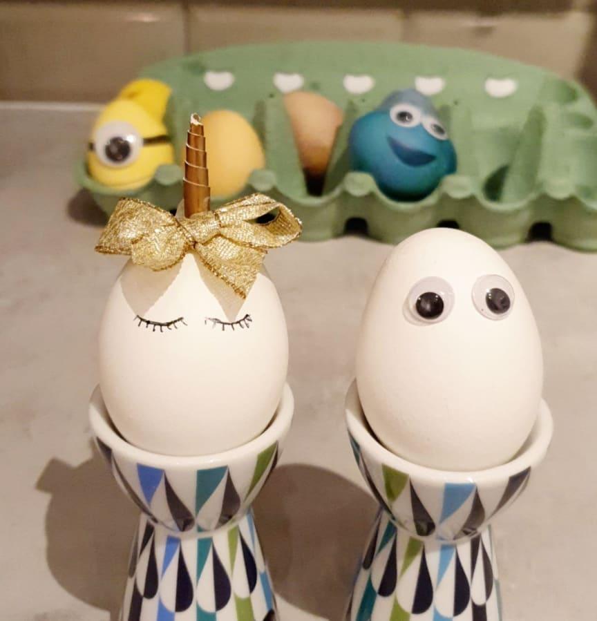 Påsk: äggfigurer