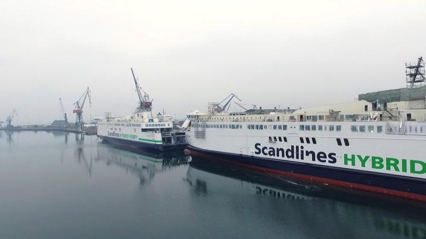 """Nye Scandlines færger - """"Berlin"""" og """"Copenhagen"""""""