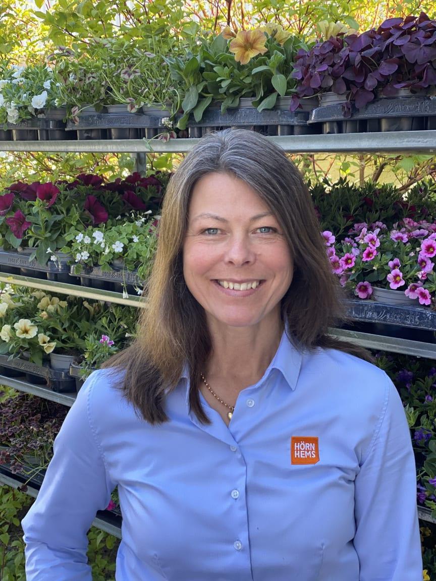 Trädgårdsmästare Anna Unné
