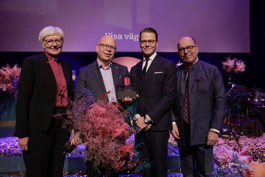 Prisutdelning Visa Vägen-galan 25 november 2019
