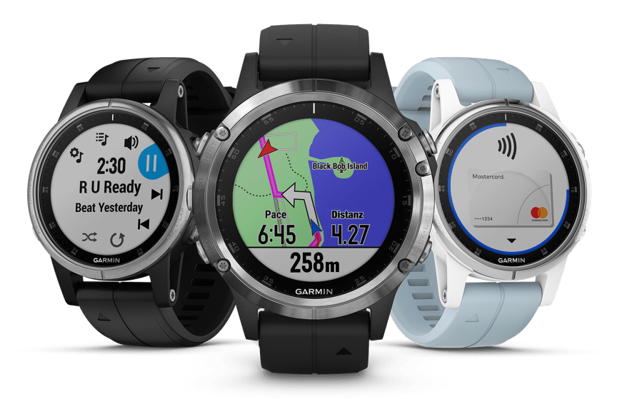 fēnix 5 Plus Range mit Garmin Pay