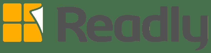 Readly logo (dark) | Readly AB