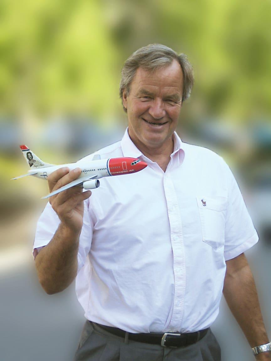 Norwegianin toimitusjohtaja Björn Kjos