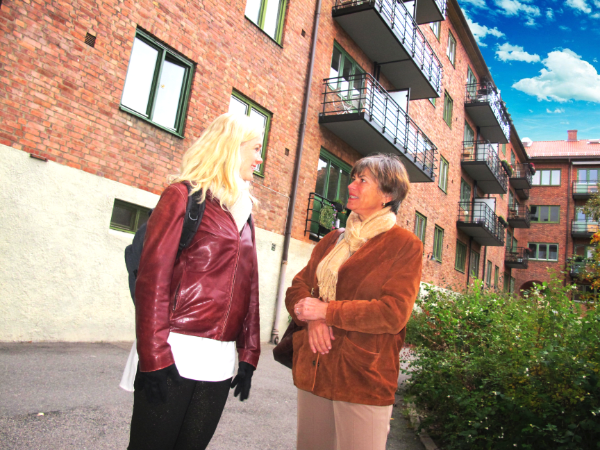 Ester och Trine, Brf Dælengen Oslo