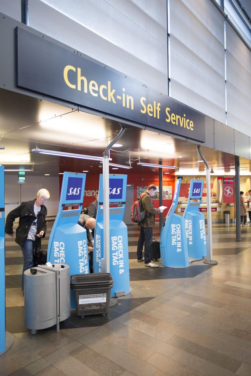 Stockholm Arlanda Airport, Self-Service Check-in