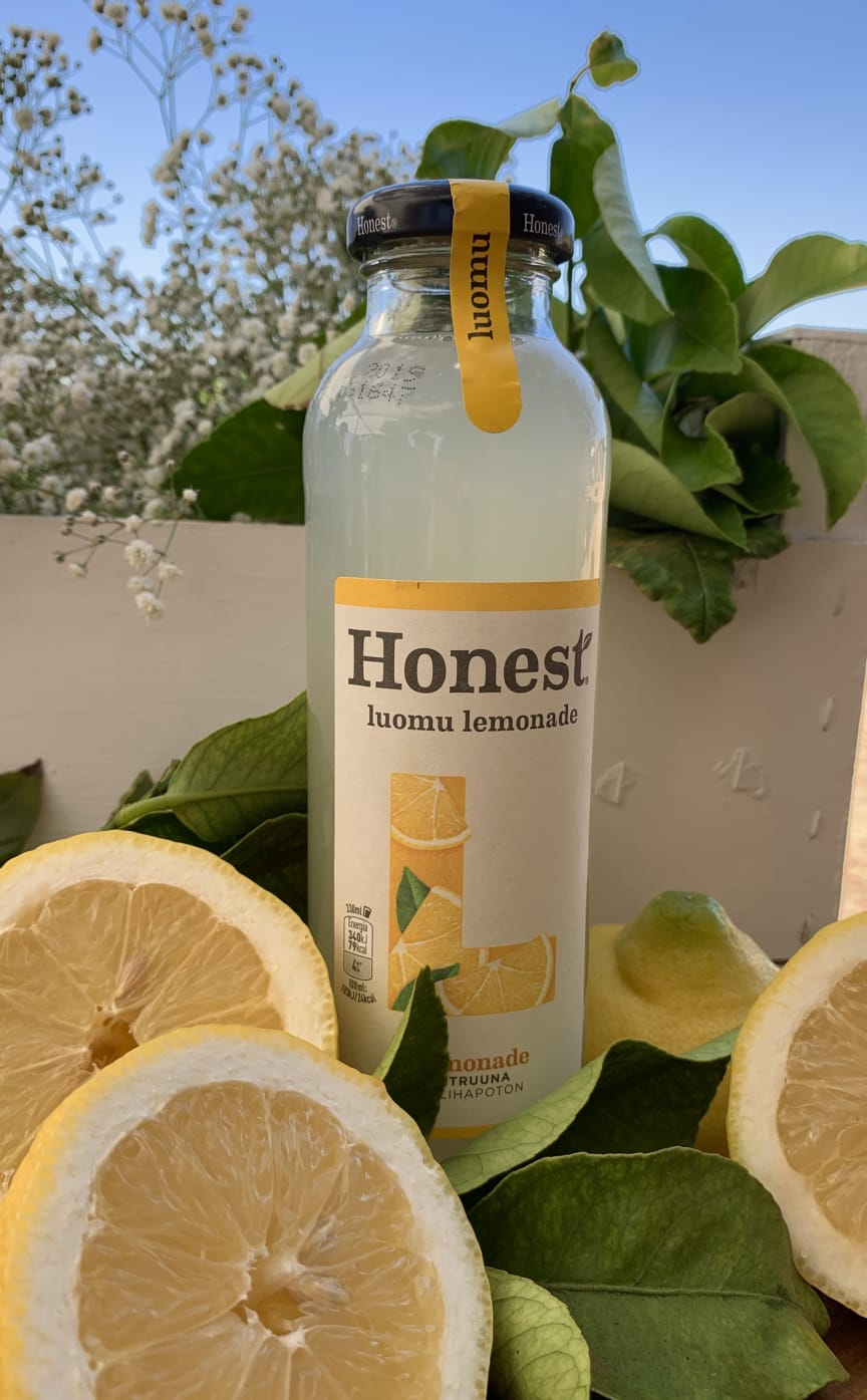 HONEST® luomu lemonade